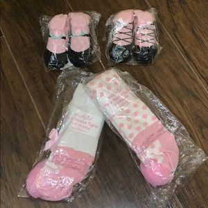 Mud Pie Infant Sock and Tights Set